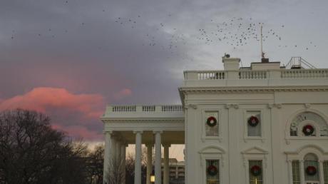 Das Weiße Haus in Washington, offizieller Regierungssitz des Präsidenten der USA.