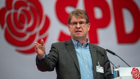 Ralf Stegner beim SPD-Bundesparteitag in Berlin.
