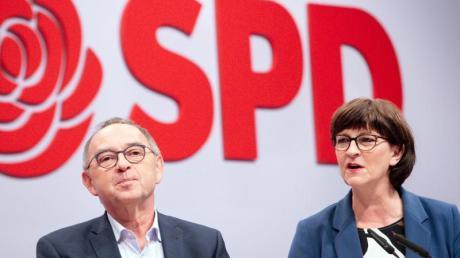 Die neue Spitze der SPD: Norbert Walter-Borjans und Saskia Esken.