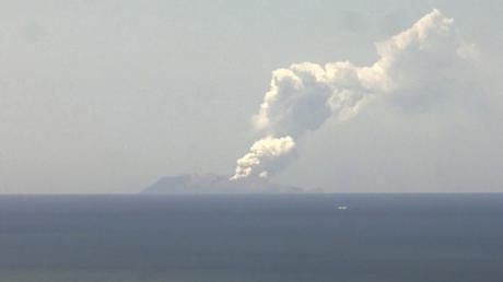 Auf der Insel White Island in Neuseeland ist der Vulkan Whakaari ausgebrochen. Berichten zufolge wurden mehrere Menschen verletzt.