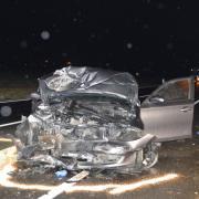 Ein schwerer Verkehrsunfall hat sich am Montag auf der Umfahrung von Baldingen ereignet.
