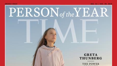 News: Greta Thunberg wurde vom Time Magazine zur Person des Jahres ernannt.
