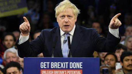 Brexit-News: Boris Johnson kann das Ergebnis der Großbritannien-Wahl 2019 feiern.