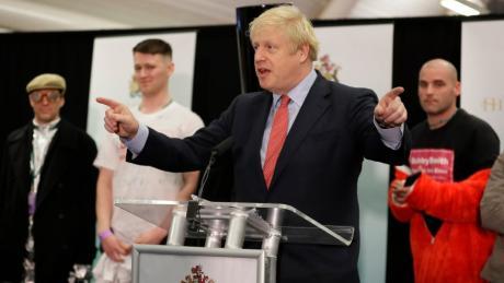 Für Boris Johnson ist das Ergebnis der Großbritannien-Wahl 2019 ein Triumph.