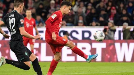 Philippe Coutinho begeisterte gegen Werder die Bayern-Fans.
