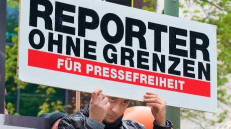 In vielen Ländern der Welt können Journalisten nicht frei berichten.