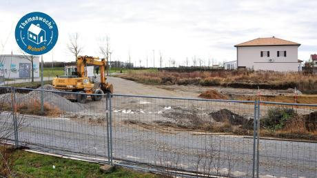 Wer ein Baugrundstück kaufen möchte, muss deutlich mehr bezahlen, als noch vor wenigen Jahren. Unser Archivfoto zeigt das Baugebiet südlich der Friedrich-Ebert-Straße in Göggingen.