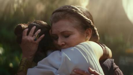 """Prinzessin Leia wird auch beim Star-Wars-Finale in """"Der Aufstieg Skywalkers"""" zu sehen sein. Schauspielerin Carrie Fisher wird dafür digital wiederbelebt."""