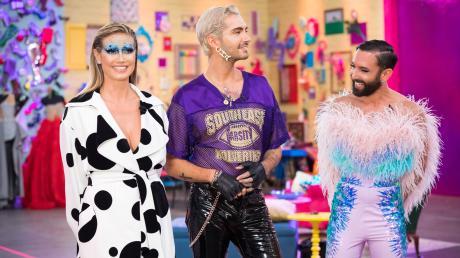 """Die Jury von """"Queen of Drags"""". Das Finale bei """"Queen of Drags in Folge 6 wurde am 19.12.19 gezeigt. Die News im Blog."""