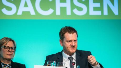 Koalition von Ministerpräsident Kretschmer (CDU) steht.
