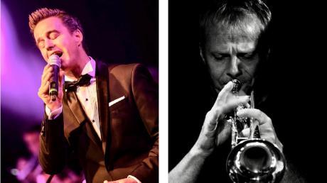 Die Musiker Matthias Wolff (links) und Klaus Dallmeir präsentieren im Kissinger Relax´t Jazzy Ballads.