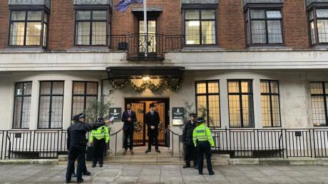 Das King Edward VII Hospital in London: Hier lässt sich Prinz Philip (98) derzeit behandeln. Auch Prinz Harry, Herzogin Meghan und Sohn Archie sind nicht anwesend.