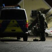 Polizeieinsatz Aldi Diedorf ///////// / Geiselname Anhausen