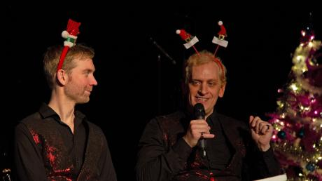 Chris Murray mit seiner Weihnachtsshow im Abraxas.