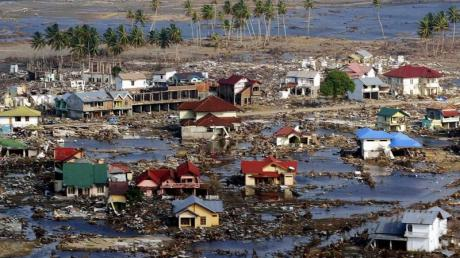 Von der Stadt Banda Aceh blieb praktisch nichts übrig.