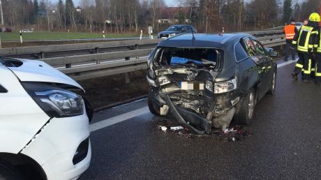 Ein Unfall hat sich auf der A7 ereignet.