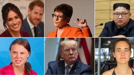 Eine Auswahl von Menschen, die das Jahr 2019 geprägt haben.