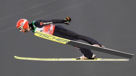 Markus Eisenbichler landete in der Quali zur Vierschanzentournee auf Rang fünf.