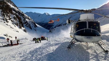 70 Rettungskräfte haben nach Verschütteten in Südtirol gesucht.