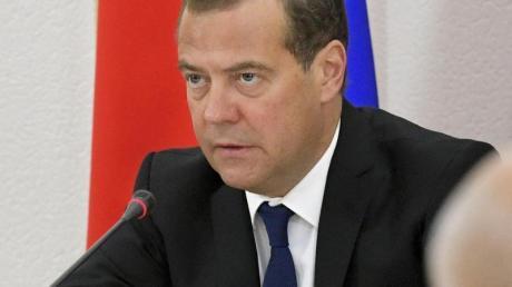 Der russische Regierungschef Dmitri Medwedew hat seinen Rücktritt angekündigt.