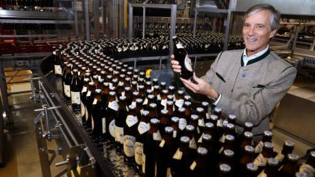 """Michael Weiß ist Chef der Allgäuer Brauerei """"Löwenbräu Meckatzer""""."""