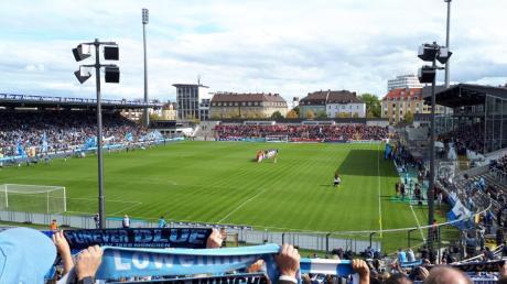 Die Fangruppen waren unterwegs ins Grünwalder Stadion zu einem Heimspiel des TSV 1860 München.