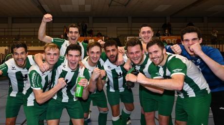 Der Sieger: Landesligist FC Gundelfingen verteidigte den Schwaben-Titel.