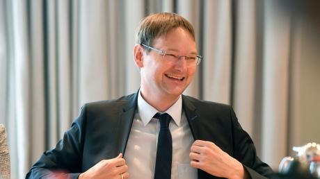 Hans Reichhart möchte Landrat im Landkreis Günzburg werden.