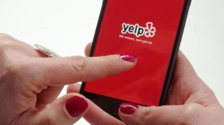 Auf Yelp können Nutzer vieles bewerten, zum Beispiel Restaurants, Dienstleister oder Geschäfte.