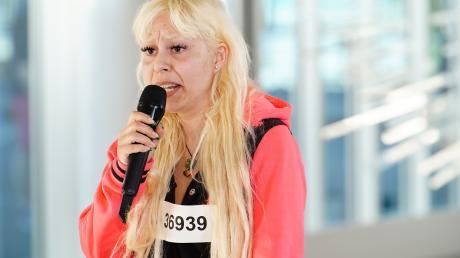DSDS 2020, Folge 4 am 14.1.20: Selma Alaalaoui hat es nicht in den Recall geschafft.