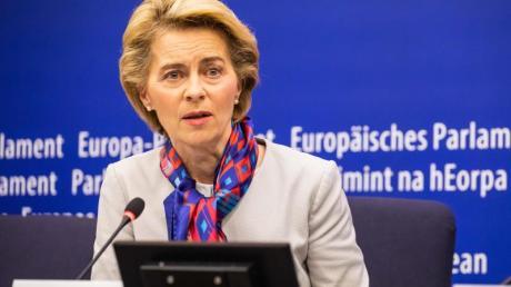 Die EU-Kommissionspräsidentin Ursula von der Leyen will eine BillionEuro Investitionen für eine Klimawende.