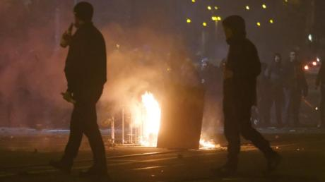 In der Neujahrsnacht ist imStadtteil Connewitz zu Zusammenstößen zwischen Linksautonomen und der Polizei gekommen.