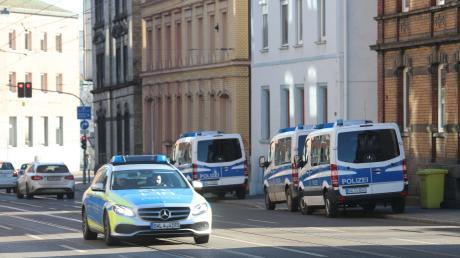 Verdacht auf illegale Drogen: Am Mittwoch wurde in der Ulmer Olgastraße ein Haus durchsucht.