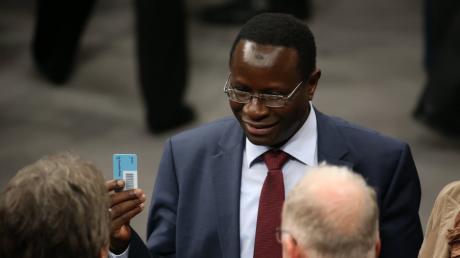Auf das Büro des SPD-Bundestagsabgeordneten Karamba Diaby wurde geschossen.