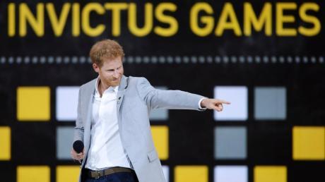Prinz Harry ist Schirmherr der Invictus Games. 2022 kommt das Sportereignis nach Deutschland.