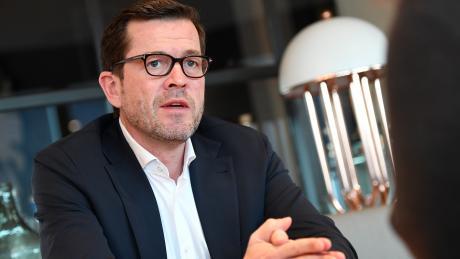 Karl-Theodor zu Guttenberg (CSU) wünscht sich Friedrich Merz (CDU) als Kanzlerkandidaten der Union.