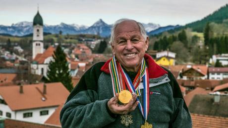 Franz Keller aus Nesselwang im Allgäu gewann vor 52 Jahren Olympisches Gold in der Nordischen Kombination.