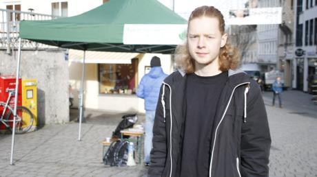 Benjamin Gras will in den Stadtrat Kempten gewählt werden.