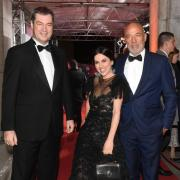 Heiner Lauterbach, hier mit Ehefrau Viktoria, bekam beim Bayerischen Filmpreis 2020 den Ehrenpreis von Ministerpräsident Markus Söder verliehen.