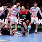 Aktuelle Ergebnisse von Deutschland bei der Handball-EM 2020: Gegen Kroatien ging das DHB-Team nicht als Sieger vom Feld.