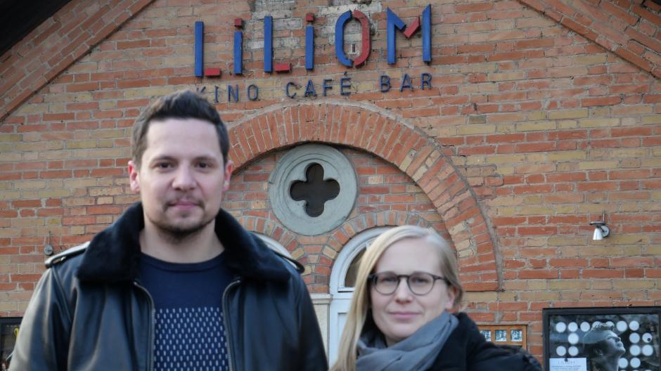 Michael Hehl und Daniela Bergauer führen das Liliom-Kino am Unteren Graben.