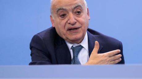 Der UN-Sondergesandte Ghassan Salamé spricht sich gegen den Einsatz einer internationalen Friedenstruppe in Libyen aus.