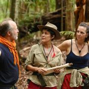 """""""Ich bin ein Star - Holt mich hier raus!"""": Sonja (m.) ist raus - folgt Danni (r.) ihr heute in Folge 12? Alle Infos lesen Sie in der Vorschau zum """"Dschungelcamp 2020"""" am 21.1.20."""