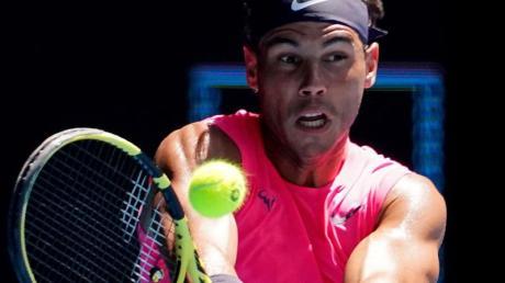 Hat seinen Auftakt bei den Australian Open souverän absolviert: Rafael Nadal.