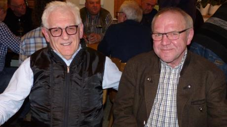 Vor sechs Jahren hat Konrad Dallmayr (links) das Rennen um den Bürgermeisterposten gegen den amtierenden Rathauschef, Leonhard Kandler, verloren. Nun unterstützt er als Vorsitzender des Bürgervereins Oberes Paartal Josef Ruisinger  bei seiner Kandidatur.