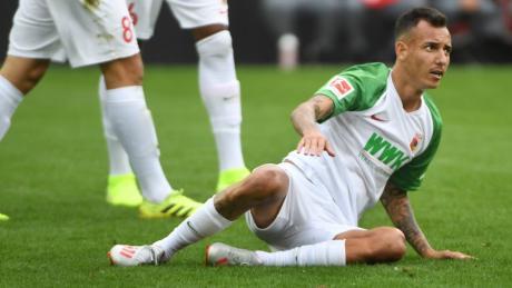 Iago fehlt dem FC Augsburg dieser Tage. Mit der U23 Brasiliens will er sich für Olympia in Tokio qualifizieren.