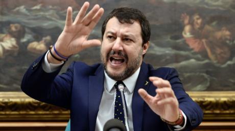 Sieht sich als kommender Regierungschef: Matteo Salvini.