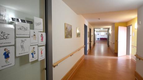 Das Seniorenheim Rummelsberger Stift in Leipheim der Rummelsberger Diakonie kann keine neuen Bewohner mehr aufnehmen. Der Einrichtung fehlen Pflegekräfte.
