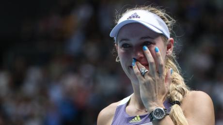 Caroline Wozniacki hat nach ihrer Niederlage bei den Australian Open ihre Karriere mit 29 Jahren beendet.