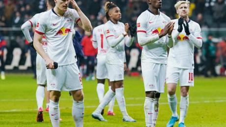 RB Leipzig hat an der Tabellenspitze drei Punkte eingebüßt.